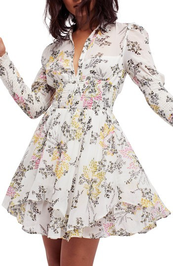 Women's Free People Fake Pretend Babydoll Dress