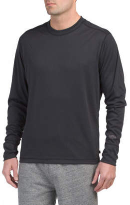 Geo Crew Neck Baselayer Top