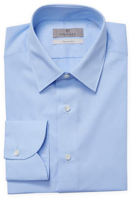 Canali Solid Slim Fit Shirt