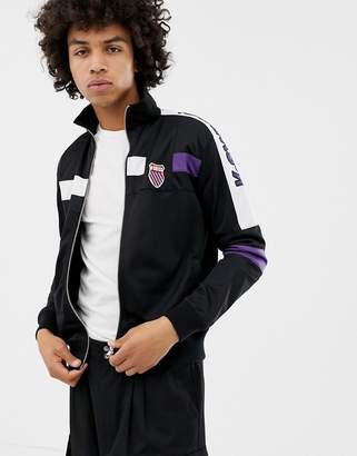 K-Swiss Oakland Track Jacket In Black