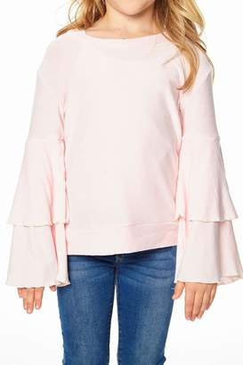 Chaser Peplum Sleeve Pullover