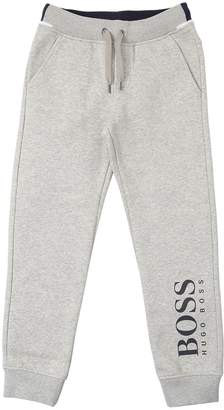 HUGO BOSS Logo Print Cotton Blend Sweatpants