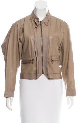 LanvinLanvin Casual Leather Jacket