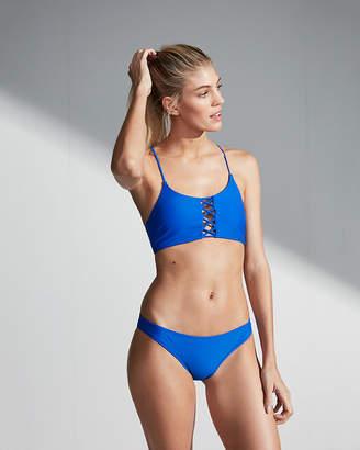 Express Low Rise Basic Bikini Bottoms