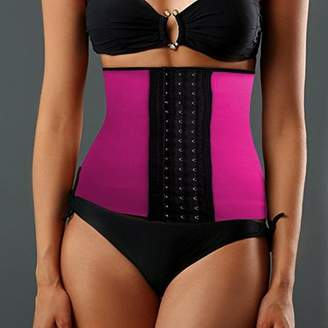 ONLINE Women's Instant Slimming Curvy Waist Cincher - Pink XXXL