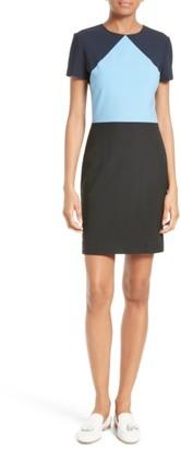 Women's Diane Von Furstenberg Colorblock Sheath Dress $368 thestylecure.com
