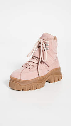 MSGM Chunky Strap Sneaker Boots