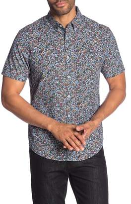 Original Penguin Floral Short Sleeve Heritage Slim Fit Shirt