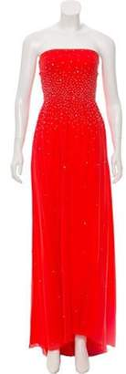 Issa Embellished Strapless Gown Embellished Strapless Gown