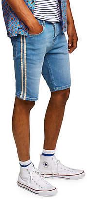 Topman Stretch Denim Shorts