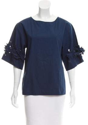 Philosophy di Alberta Ferretti Short Sleeve Top
