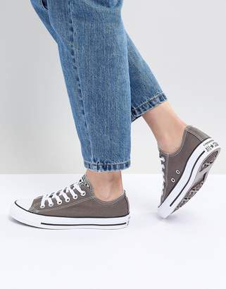 Converse (コンバース) - Converse Chuck Taylor Ox Sneakers In Gray
