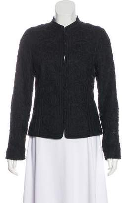 Ellen Tracy Linen Structure Jacket