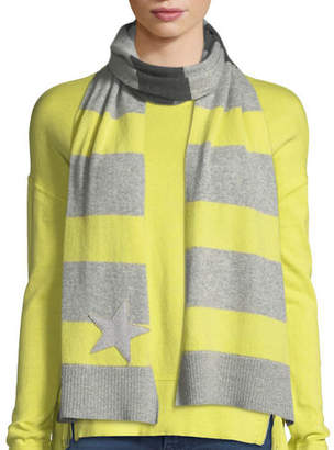 Lucky Star Lisa Todd Stripe Cashmere Scarf