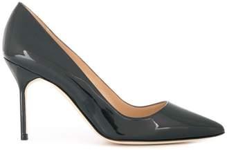 Manolo Blahnik classic printed toe pumps