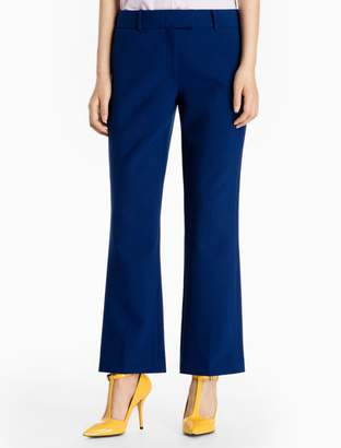 Calvin Klein skinny fit stretch flared leg pants