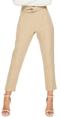 Women's Missguided Cigarette Trousers $72 thestylecure.com