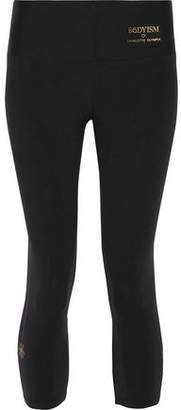 Charlotte Olympia Bodyism + I Am Purrrfect Cropped Stretch Leggings