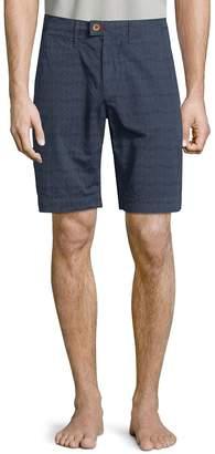 Psycho Bunny Men's Graphic-Print Cotton Shorts