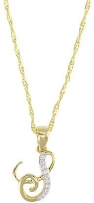 Vir Jewels 1/20 cttw Diamond Musical Pendant In 14K Yellow Gold