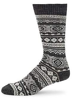 Barbour Men's Onso Fairisle Socks