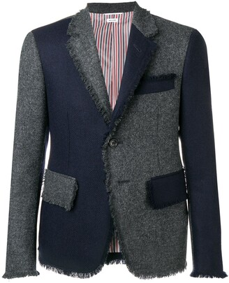 Thom Browne Frayed Edges Sport Coat