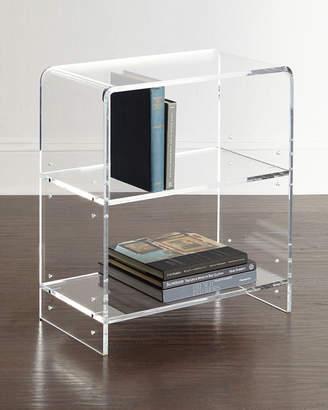 Everly Acrylic Bookcase