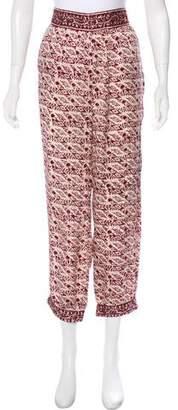 Calypso Embellished Silk Pants