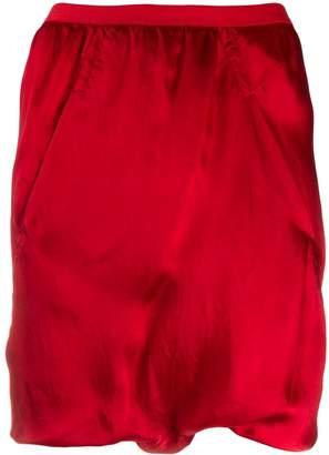 Rick Owens slip pocket shorts