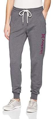 Hurley Women's Lightweight Soft Fleece Track Pant