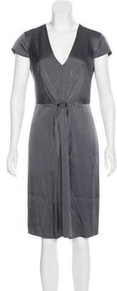 Armani Collezioni Knee-Length Silk Dress