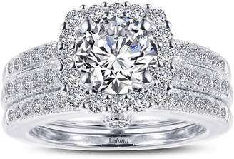 Lafonn Infinite Love Simulated Diamond Wedding Ring Set