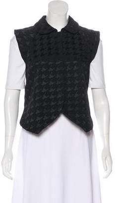 Balenciaga Patterned Collared Vest
