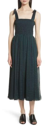 GREY Jason Wu Stripe Chiffon Dress