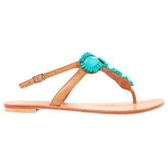 Antik Batik Camel Leather Sandals