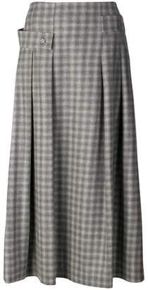 Lorena Antoniazzi full check skirt