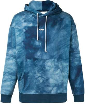 G Star Research Jaden Smith Collab logo print hoodie