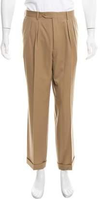 Saint Laurent Virgin Wool Dress Pants