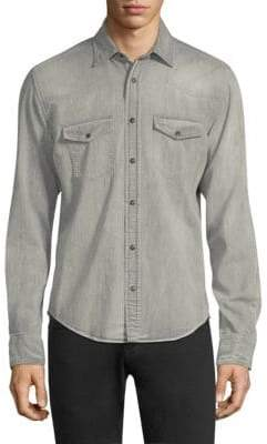 Belstaff Somerford Denim Button-Down Shirt