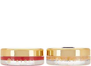 Tatcha Camellia Red & Gold Lip Balm Set