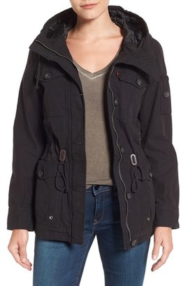 Levi's ® Cotton Twill Utility Jacket $150 thestylecure.com