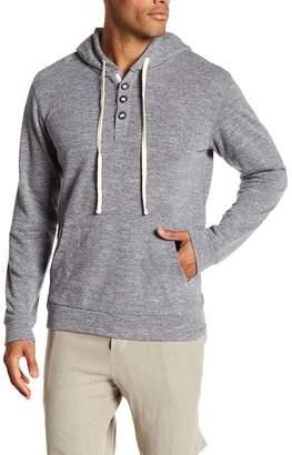 Velvet by Graham & Spencer Long Sleeve French Terry Hooded Sweatshirt