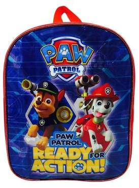 Nickelodeon Character Paw Patrol Ready For Action Backpack