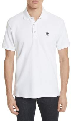 Rag & Bone Embroidered Dagger Pique Polo