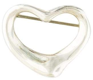 Tiffany & Co. Open Heart Brooch