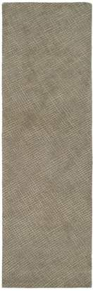 Kaleen Textura Hand-Tufted Wool Runner