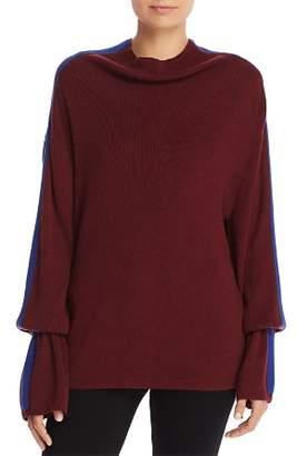 Splendid Color Block Stripe Sweater