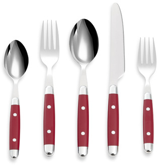 Cambridge® Silversmiths Jubilee Red 20-Piece Flatware Set