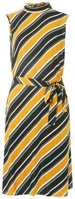 Dorothy Perkins Womens **Tall Multi-Coloured High Neck Shift Dress