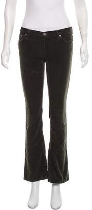 Adriano Goldschmied Low-Rise Corduroy Pant